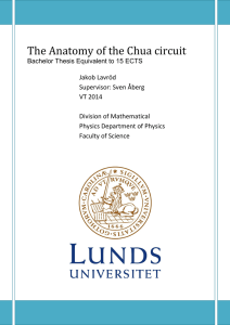 The Anatomy of the Chua circuit