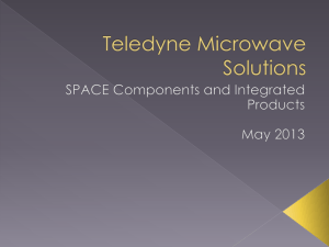 Space Components and Integrated Products