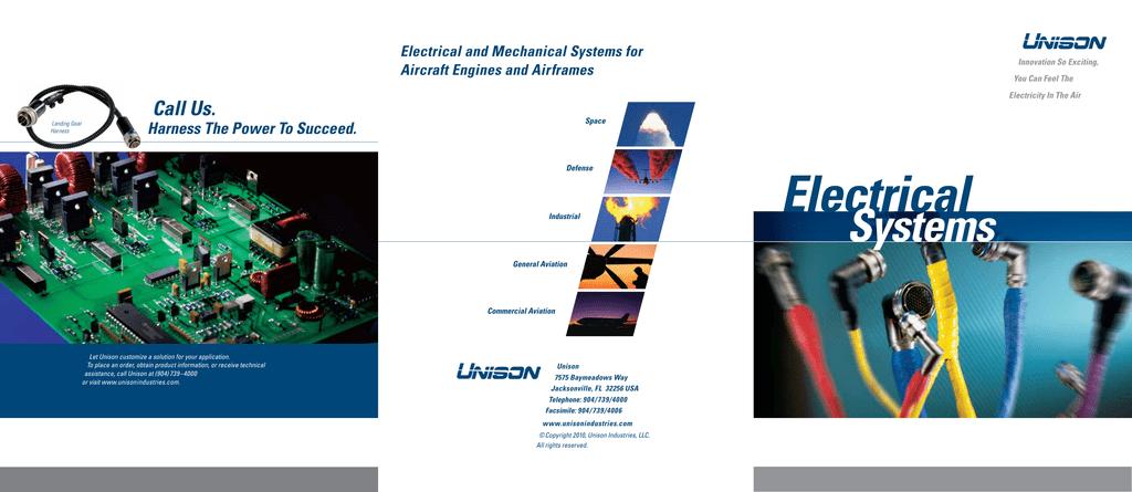 Electrical Brochure