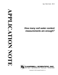 How many soil water content measurements are enough? (App