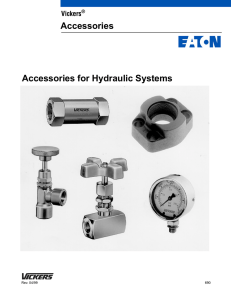 Accessories for Hydraulic Systems