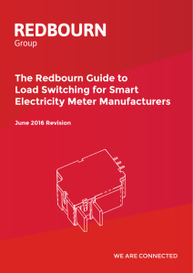 The Redbourn Guide to Load Switching for Smart Electricity Meter