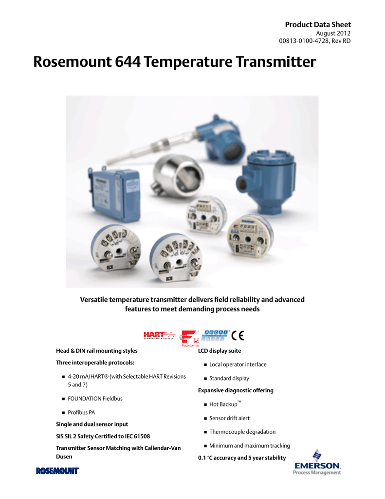 on rosemount 644 temperature transmitter wiring diagram