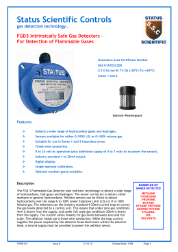 FGD3 Flammable Specification