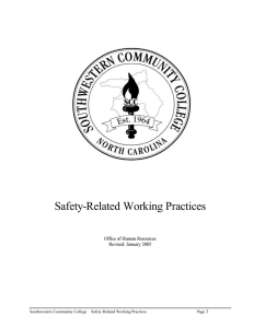 Safety-Related Working Practices