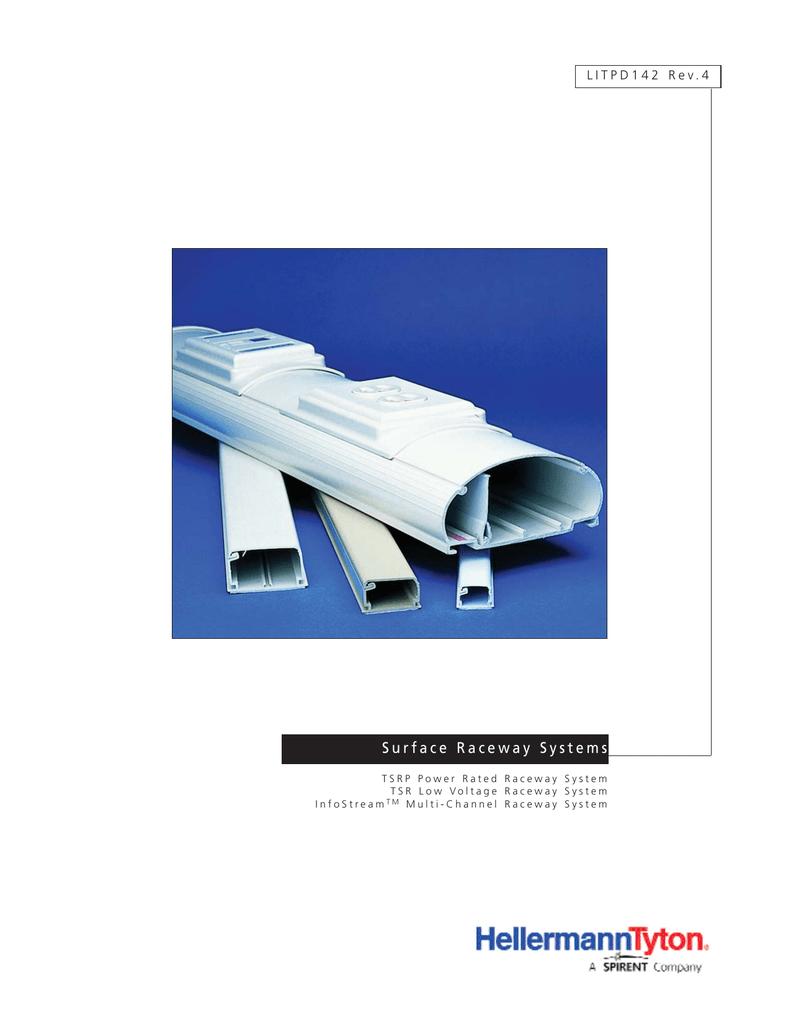 Ivory Hellermann Tyton North America TSRP2I-50 Tsrp 1-1//4 Ceiling Drop PVC HellermannTyton Pack of 10