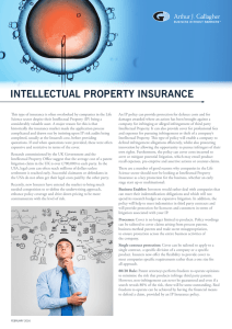 Life Science Intellectual Property Bulletin