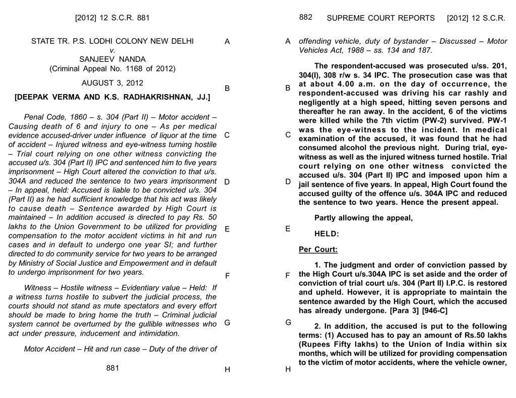 ipc 268 punishment