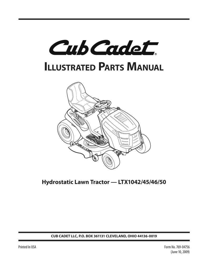 13ap91at010 Cub Cadet Parts Mower Deck Diagram