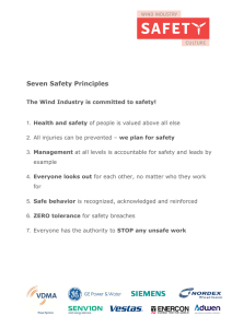 Seven Safety Principles