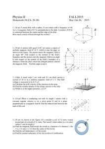 Physics II FALL2015 B