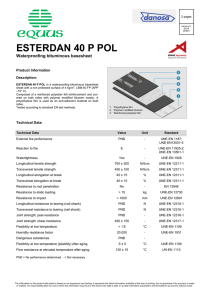 esterdan 40 p pol - Equus Industries Ltd.