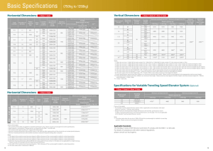 Specifications - Mitsubishi Electric