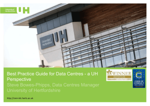 Best Practice Guide for Data Centres