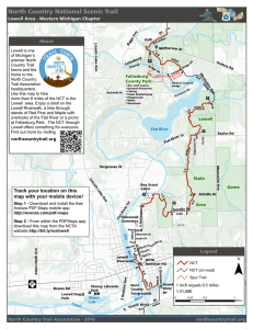 Lowell, MI - North Country Trail Association