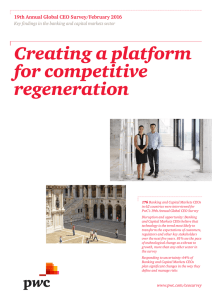 creating a platform for competitive regeneration