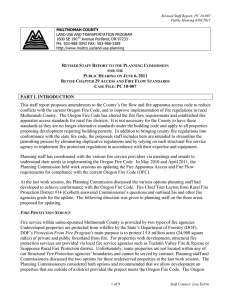 PC-10-007 Fire Flow and Access Staff Report Revised