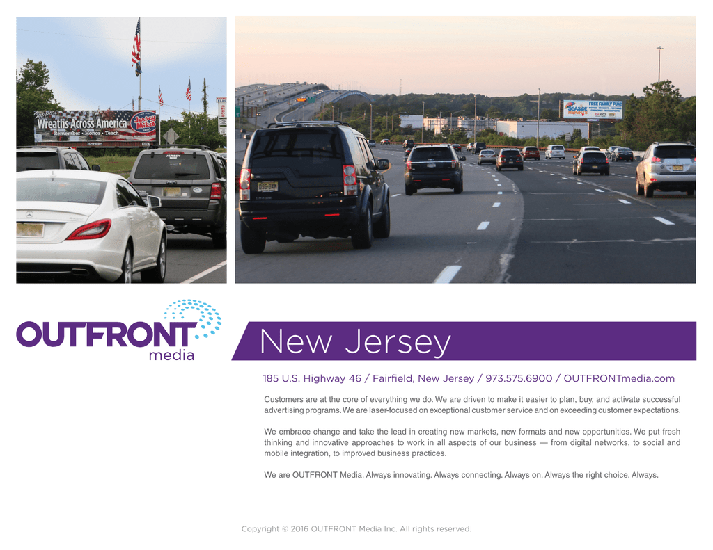 New Jersey - OUTFRONT Media