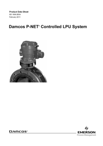 Damcos™ Local Power Unit P-Net