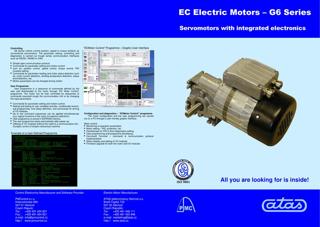 EC Electric Motors – G6 Series