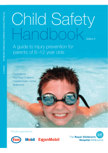 Child Safety Handbook - The Royal Children`s Hospital