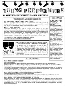 Young Performers - An Overview