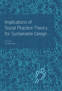 Implications of Social Practice Theory for Sustainable Design