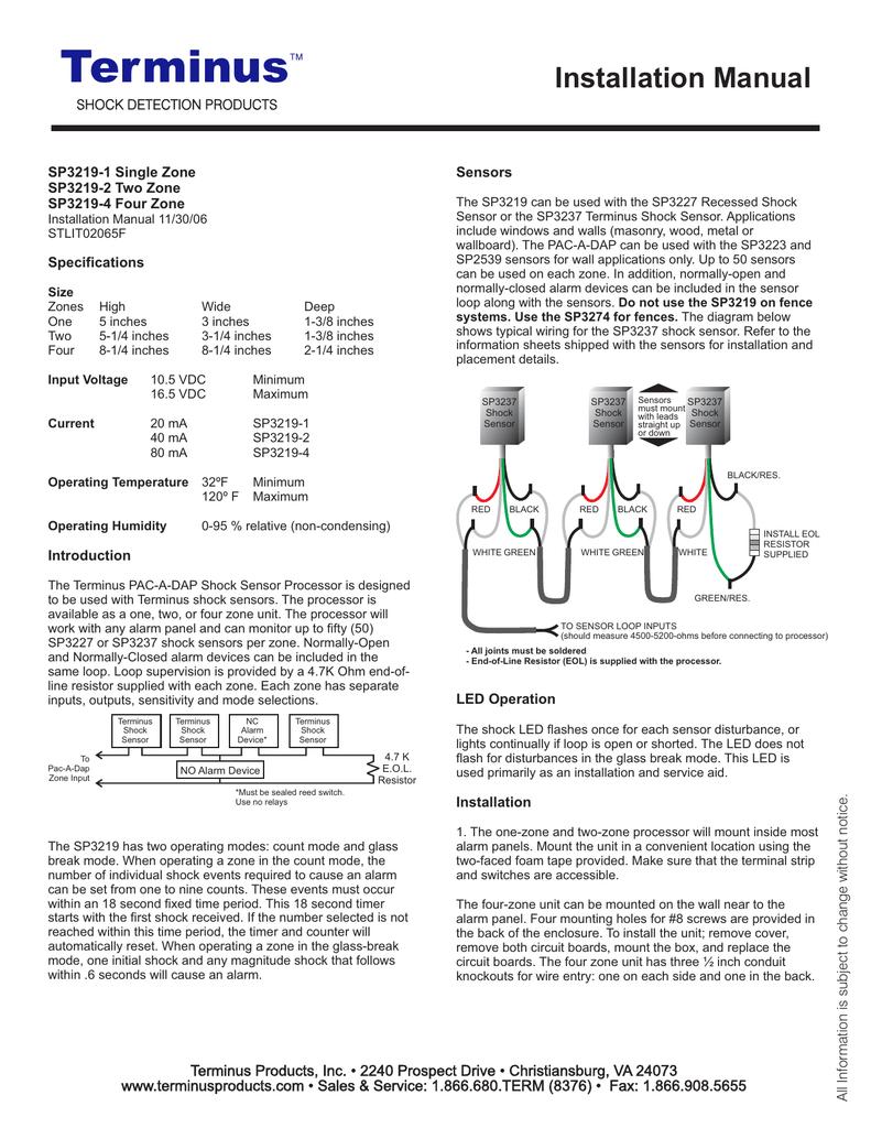 Installation Manual Eol Resistor Wiring Diagram 018861279 1 0822513b842e74ac5cc81855aff1983a