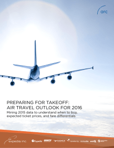 Preparing for Takeoff: Air travel outlook for 2016