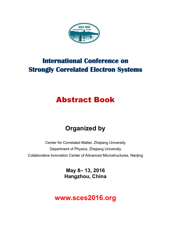 Abstract book final