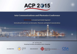 Here - Asia Communications and Photonics Conference (ACP)
