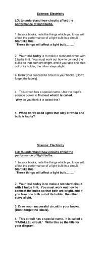 dilutions worksheet - Termolak