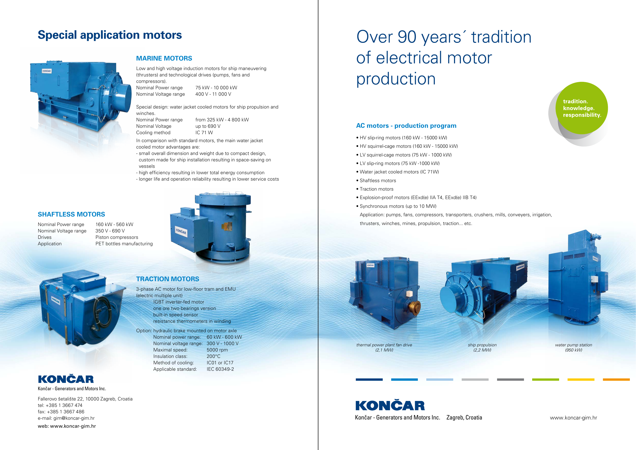 Končar-GIM motors - Končar Generators and Motors Inc