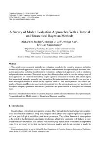 A Survey of Model Evaluation Approaches With a Tutorial on