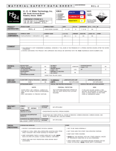RCL-2-MSDS