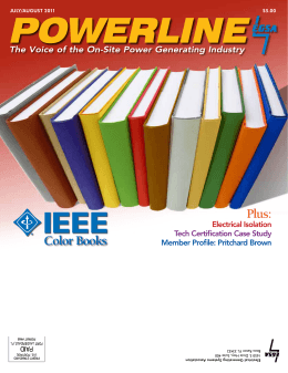 color books electrical generating systems association - Ieee Color Books