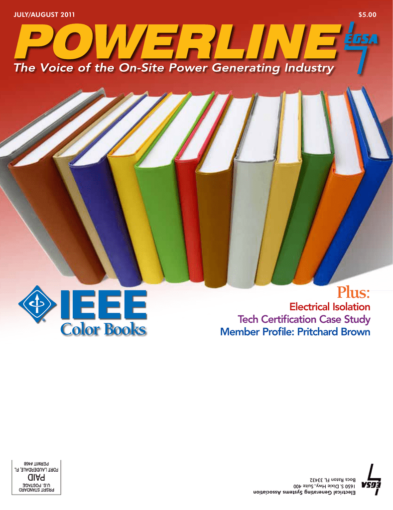 Color Books Electrical Generating Systems Association