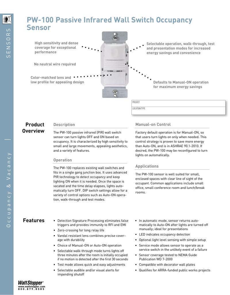 Wattstopper Wiring Diagram | Wiring Liry on