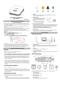 CPS1200EILCD/CPS2200EILCD User`s Manual