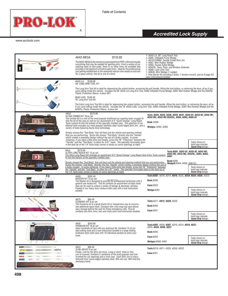 Pro-Lok Blank 8-1//2 x 5 Pro Template Set IN50BL-PRO