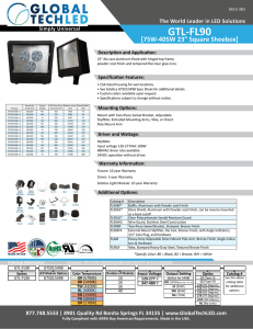 GTL-FL90 - Global Tech LED