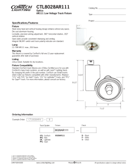 CTL8028AR111 - ConTech Lighting