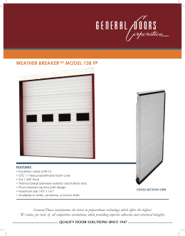 weather breaker™ model 138 fp