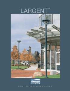LARGENT™ - Architectural Area Lighting