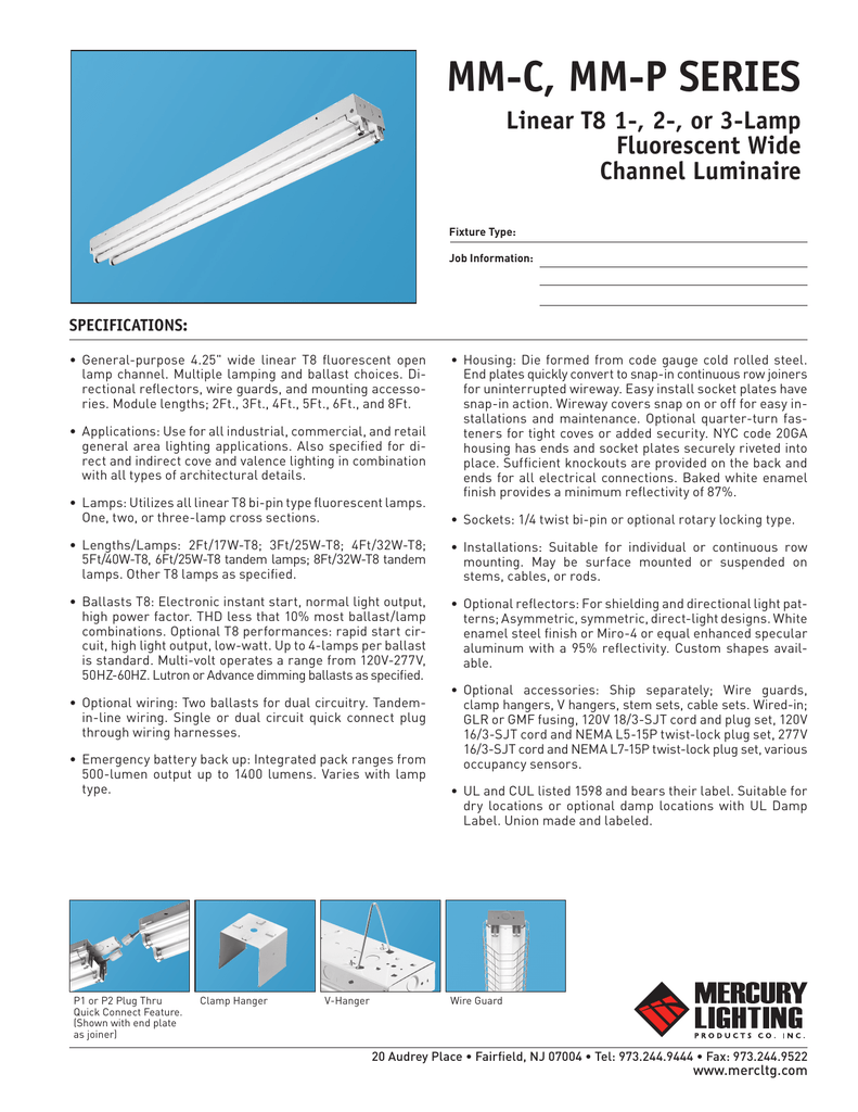 Detailed Specifications Cooper Electric Supply Wiring Up Fluorescent Ballast