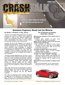 CrashTalk V8 Issue 1 - Graham Ryan Consulting