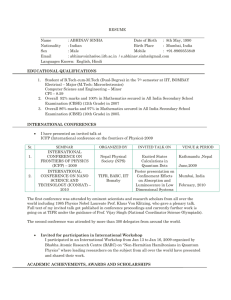 Resume - College of Engineering