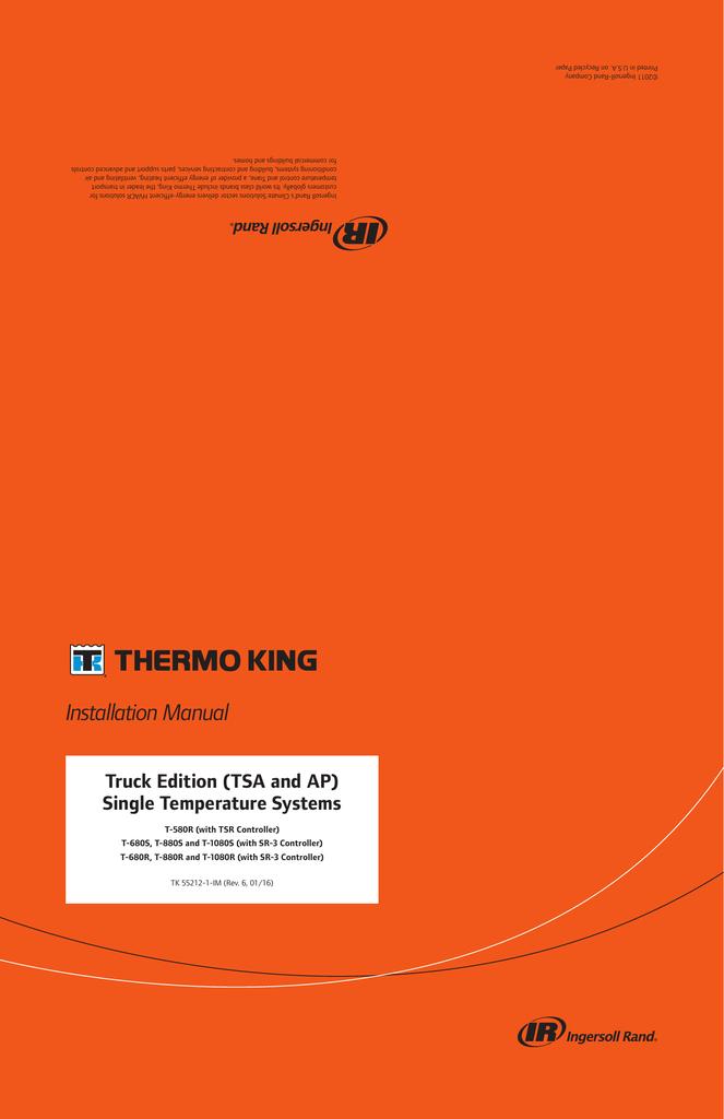 VIEW PDF - Thermo King