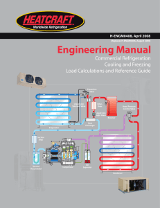 Engineering Manual - Heatcraft Worldwide Refrigeration