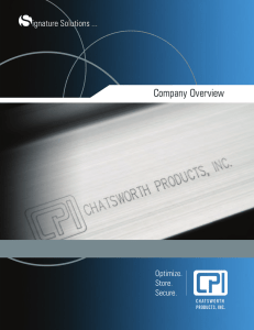 CPI Company Overview - Chatsworth Products, Inc.